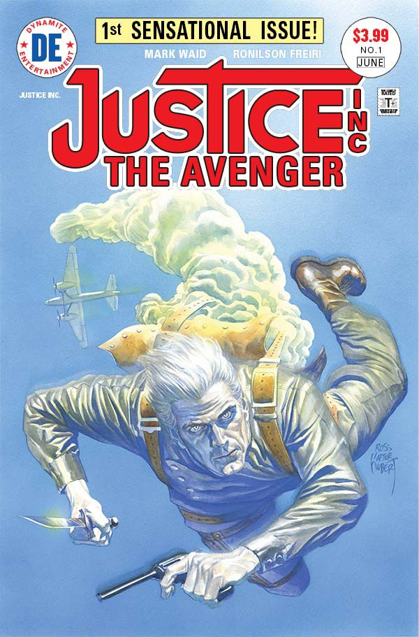 Justice, Inc. The Avenger #1, cover by Alex Ross