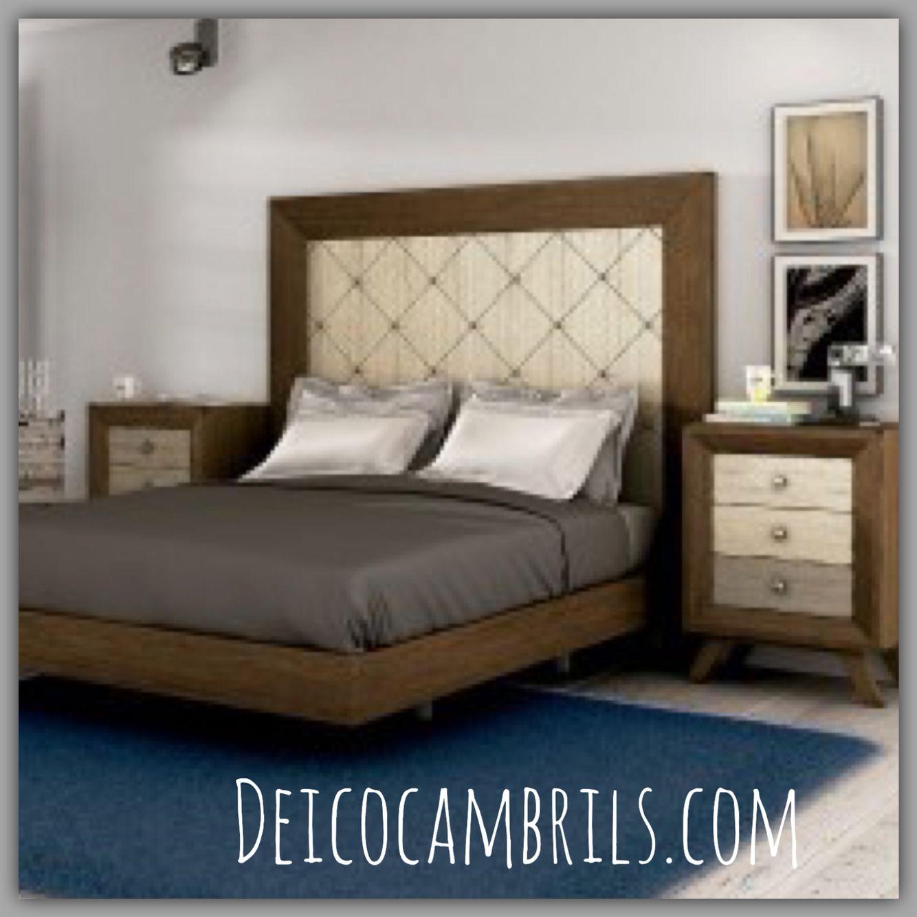 Cabecera de inspiración vintage para un dormitorio muy romántico en ...