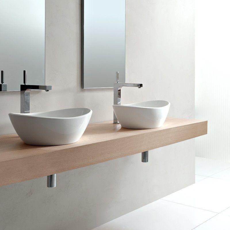 vasque posee 14 Satisfaisant Meuble Salle De Bain Double Vasque A Poser Images
