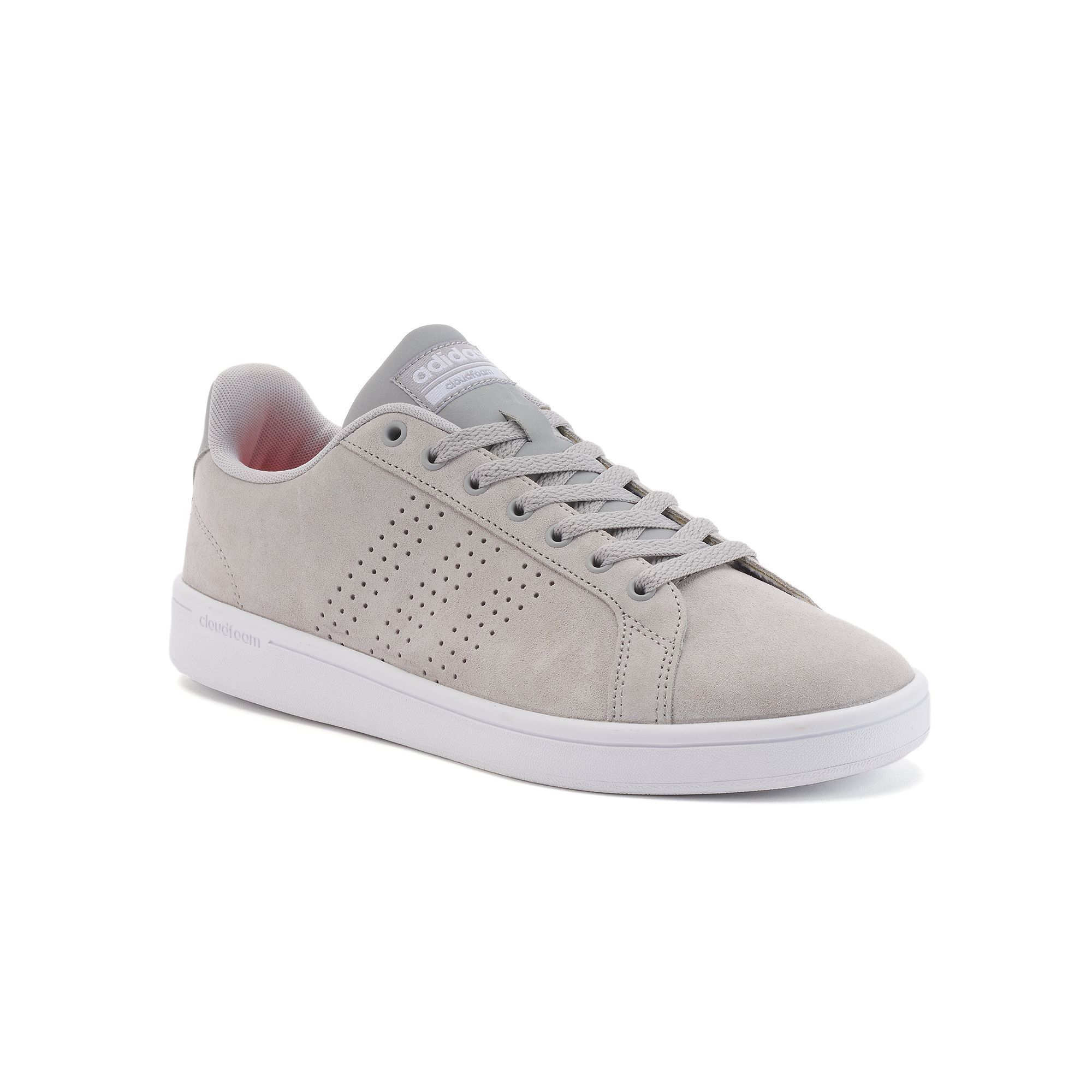 brand new d0150 ff9aa ... Silver Blue Mens Running adidas NEO CF Advantage Clean Mens Sneakers ...