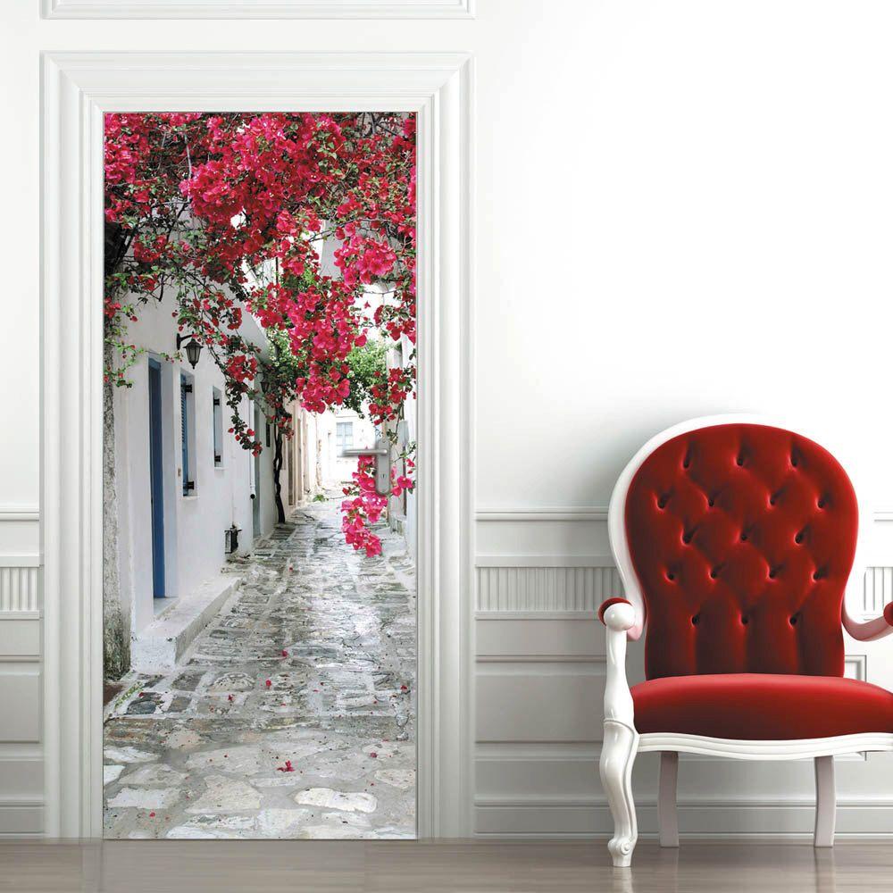 Door Wall Sticker ***Blooming tree*** / SelfAdhesive