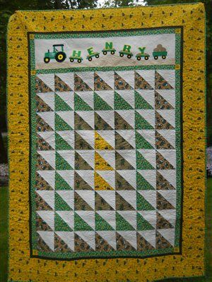 John Deere Quilt Quilters Club Of America Sewing Quilting 1