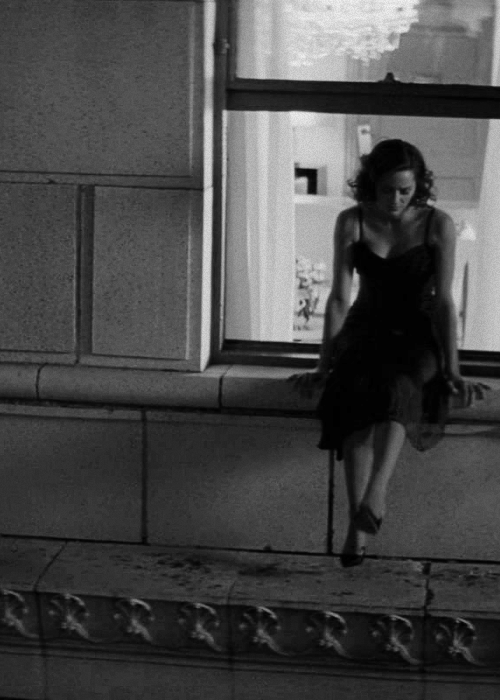 "Marion Cotillard in Inception. Mal. If I were her I would say, ""You said you jump I jump!"""
