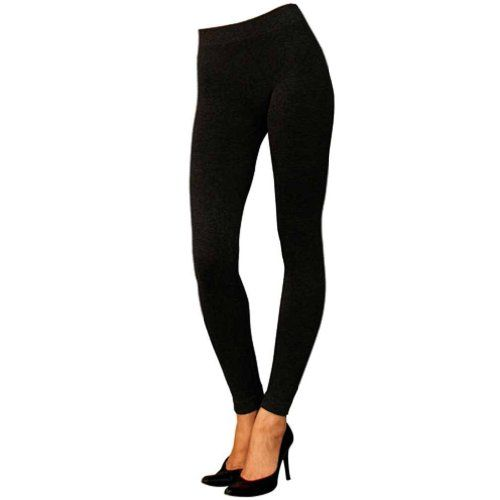 Save $6.01 on Black Thick Sweater Knit Stretchy Warm Footless Legging Tights; only $16.99
