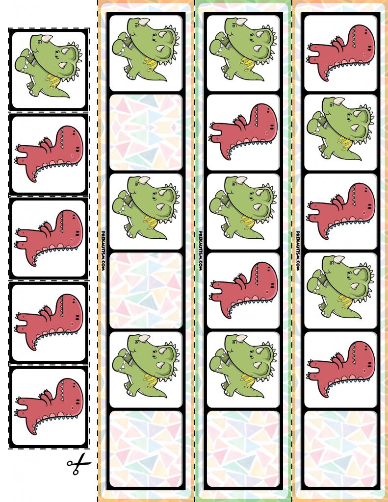 FREE Dinosaur AB Pattern Cards   Kindergarten, Math and Worksheets