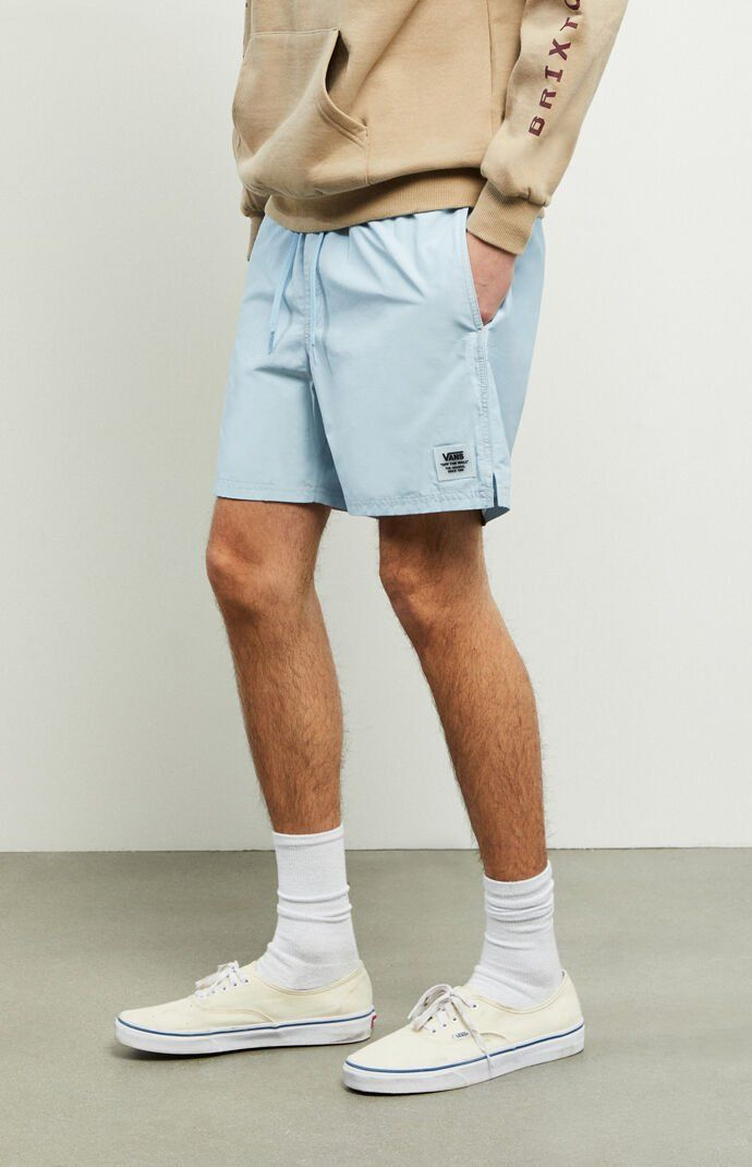 Summer Outfits Discover Vans Light Blue Primary Volley Shorts