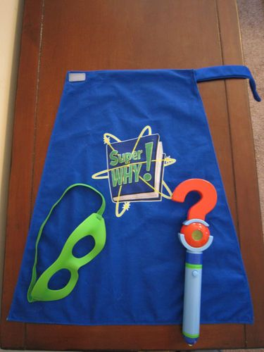 SUPER WHY Wyatt Dress Up Costume Role Play Kit  eBay  cool things to try  Super why Super