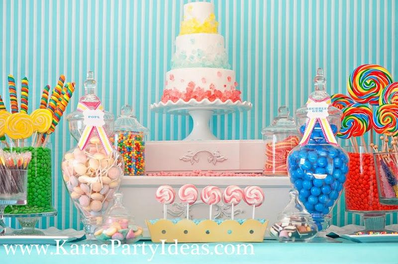 Sweet Shoppe Candy Party Not sure I\u0027ll be doing this for my - sweet 16 halloween party ideas