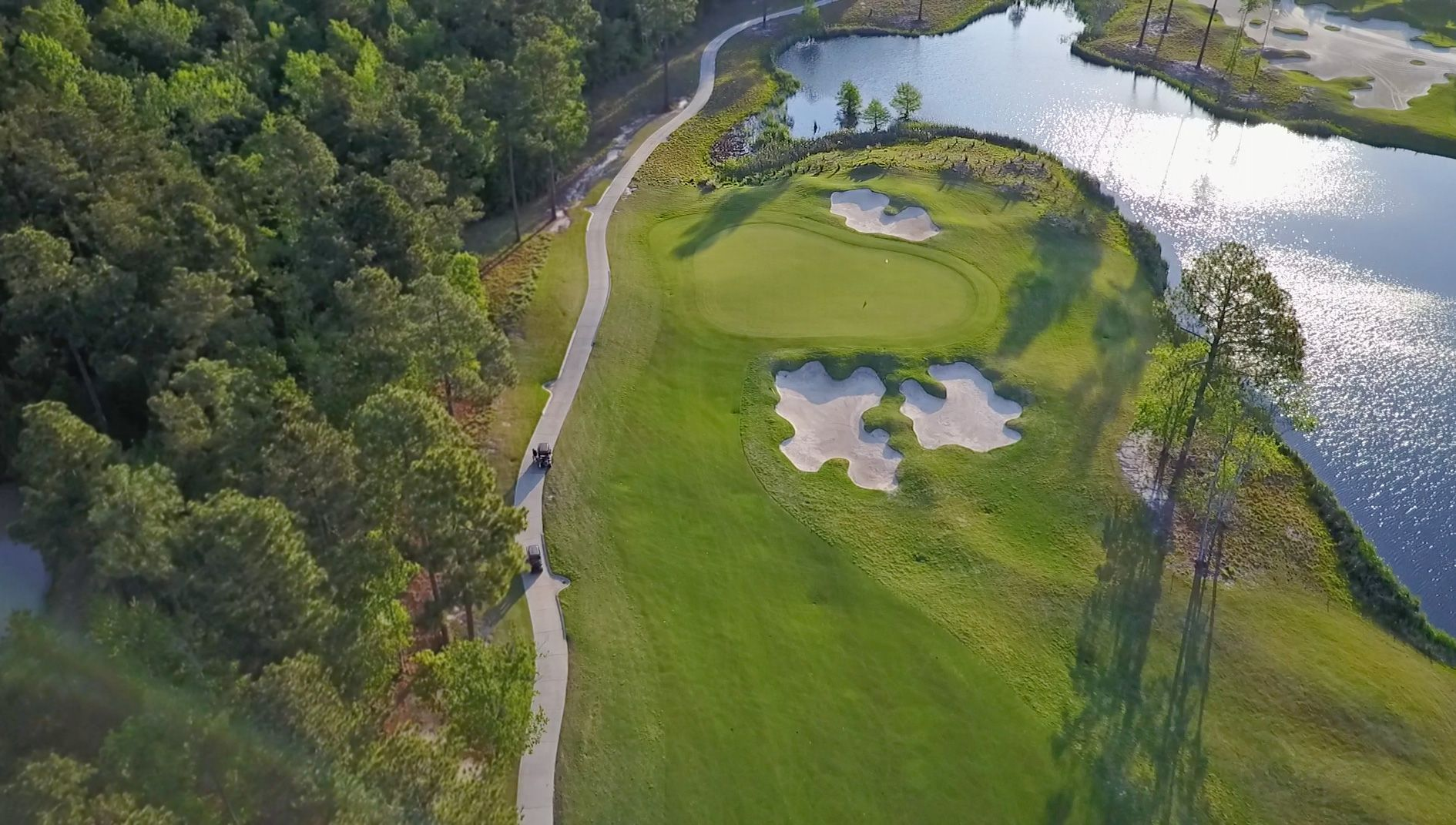 Brunswick Forest Golf course Cape Fear National Forest