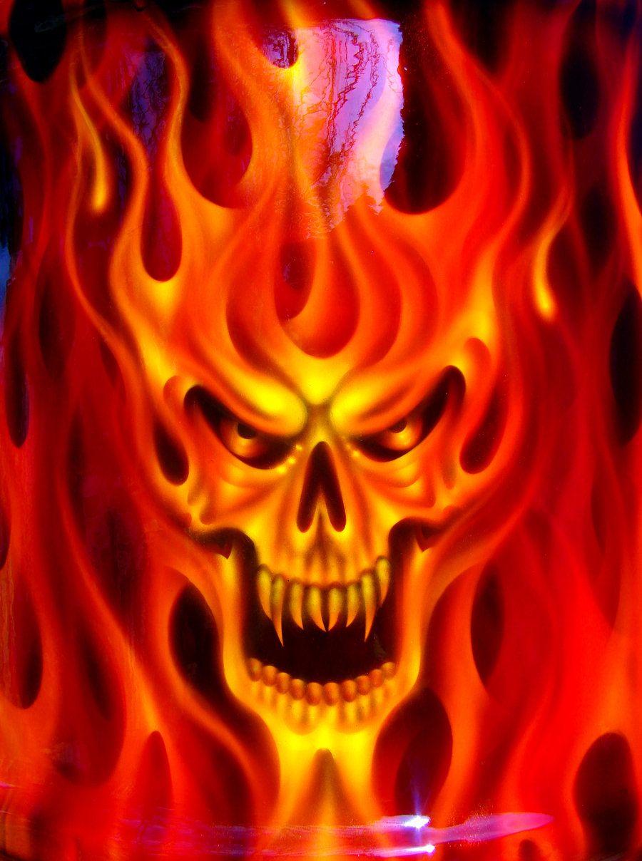 Baddest Trash Can In The West Skull Artwork Skull Pictures
