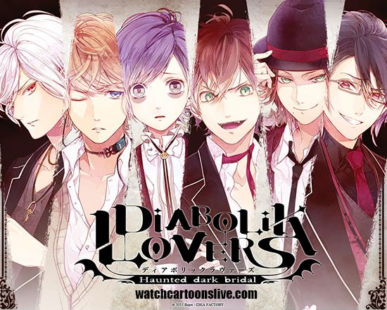 Diabolik Lovers Episode 1 English Dubbed