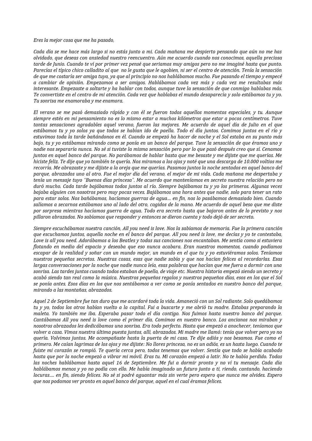 Carta amor castellà (con imágenes) Filosofía, Cartas