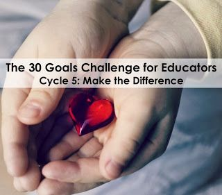 First big project is the on going #30GoalsEDU Challenge. I have started during the summer with Cycle 4 and moving on to Cycle 5. #30Goals is  a blogging challenge for educators initiated by Shelly Terrell. We were given 30 different blogging tasks. Participants wrote their ideas on their interpretation of the Goal.