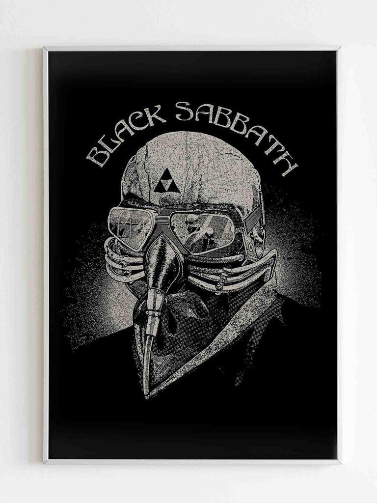 Black Sabbath Iron Man Poster In 2021 Iron Man Poster Black Sabbath Iron Man Black Sabbath