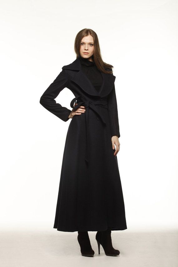 Long Black Coats Women