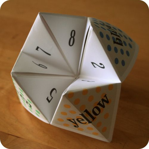 Free Paper Fortune Teller Printable Templates Printables Fortune