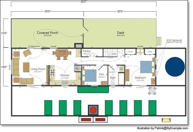 Passive Solar House Plans Version 3 Byexample Com Passive Solar House Plans Solar House Plans Passive Solar Homes