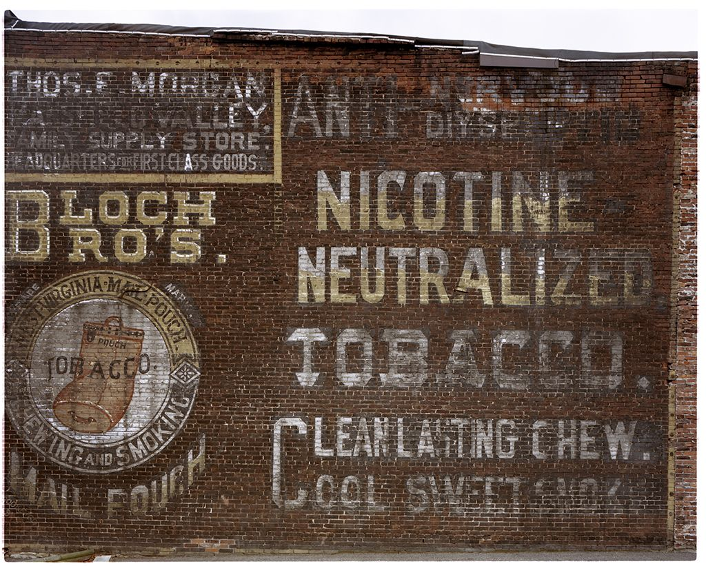 Vintage ghost signs from pittsburghs past the 412