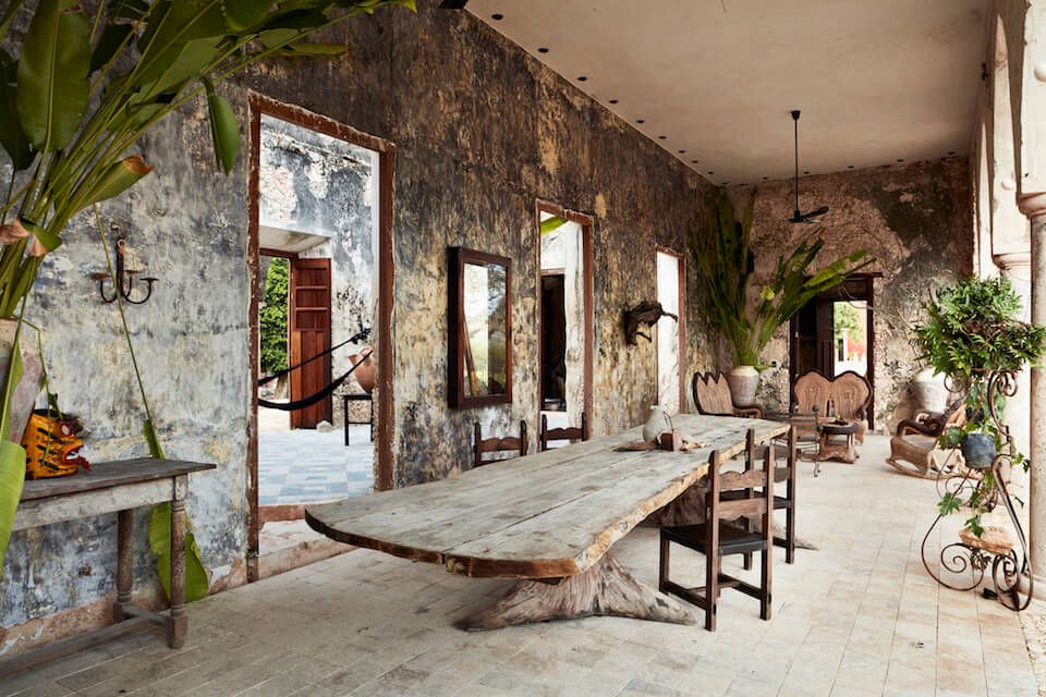 A derelict hacienda in Mexico List of