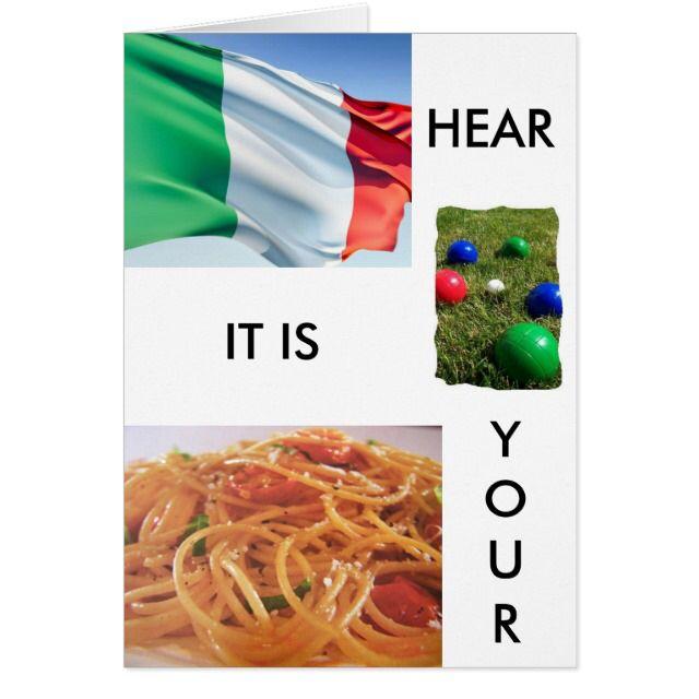 totally italian birthday greetings card – Birthday Greetings in Italian