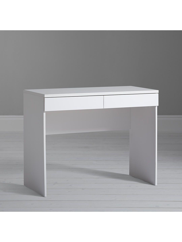 Best House By John Lewis Mix It Dressing Table Desk Matt White 400 x 300