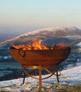 cook on it and then it's a firebowl.