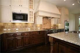 Image Result For White Top Cabinets And Brown Bottom Cabinets Top Kitchen Cabinets Modern White Kitchen Island Kitchen Transformation