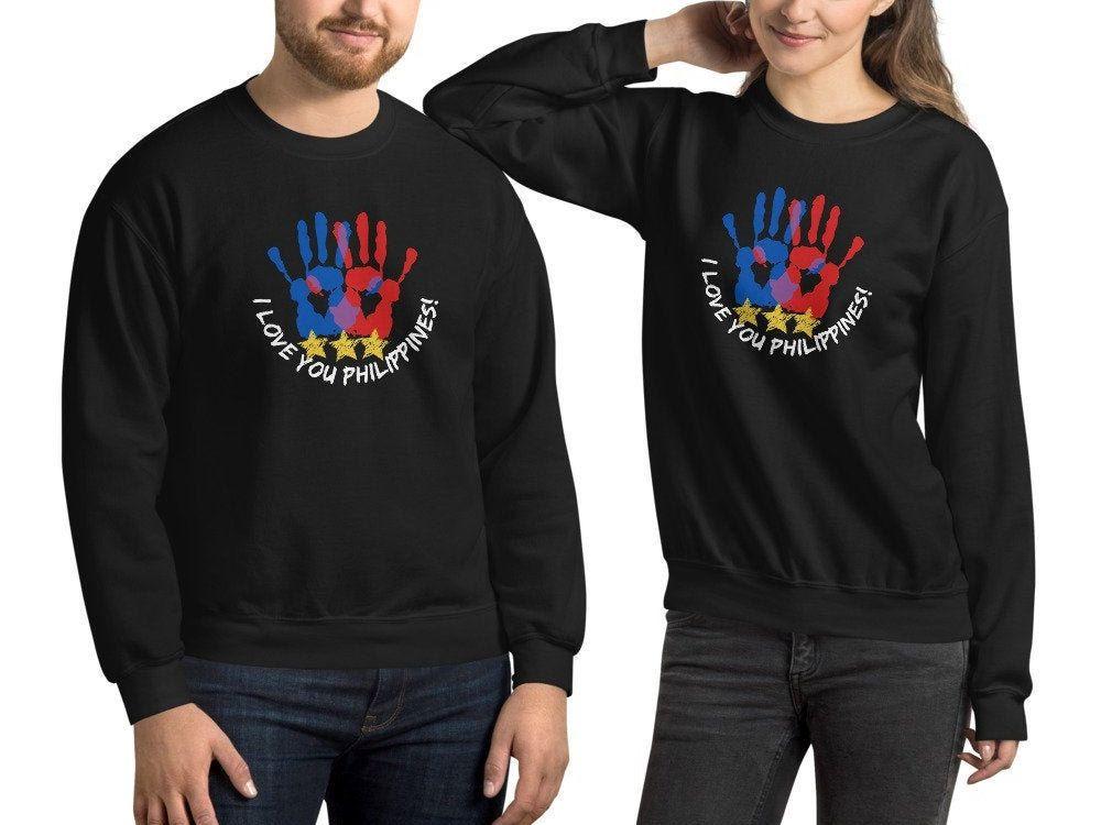 I Love You Philippines  Unisex Sweatshirt | Etsy