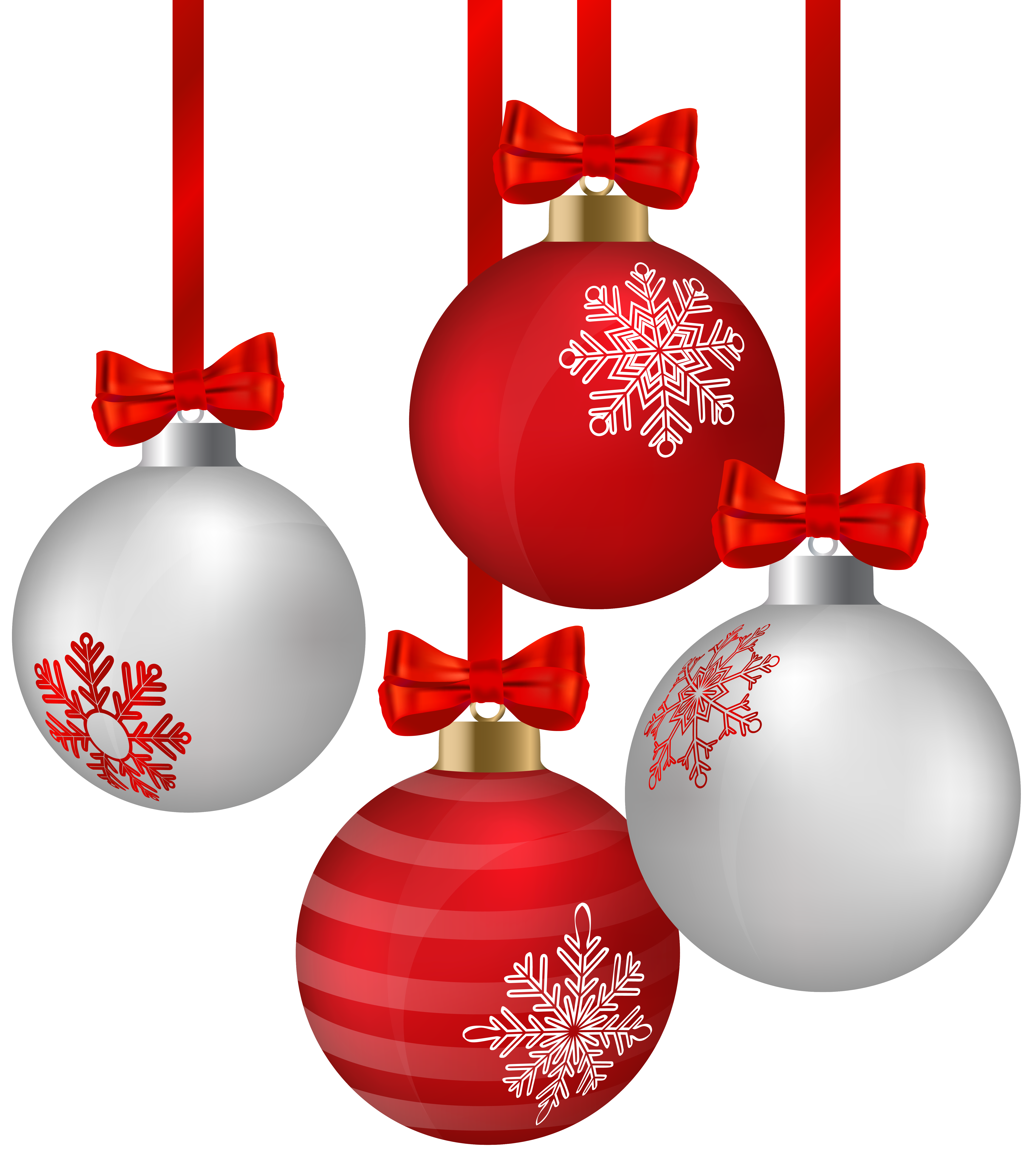 Long hanging christmas ornament clipart collection