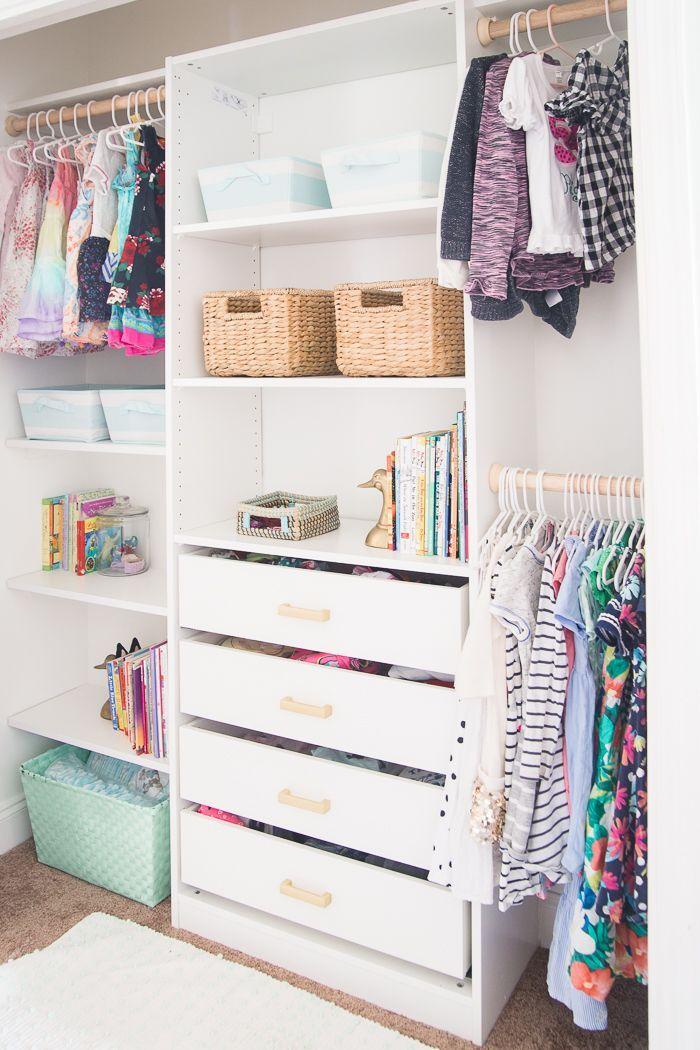 Charmant Kids Closet Makeover With IKEA Closet Organizer   DIY   Nursery Inspiration  U0026 Kids Bathrooms   Pinterest   Closet Organization, Ikea Closet And Ikea  Closet ...