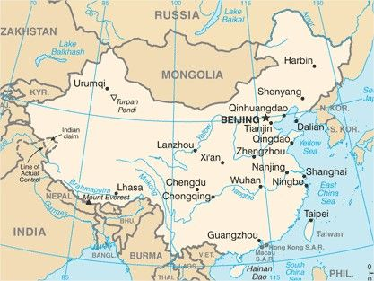 mapa da china china   Pesquisa Google | CHINA | Pinterest | Asia mapa da china