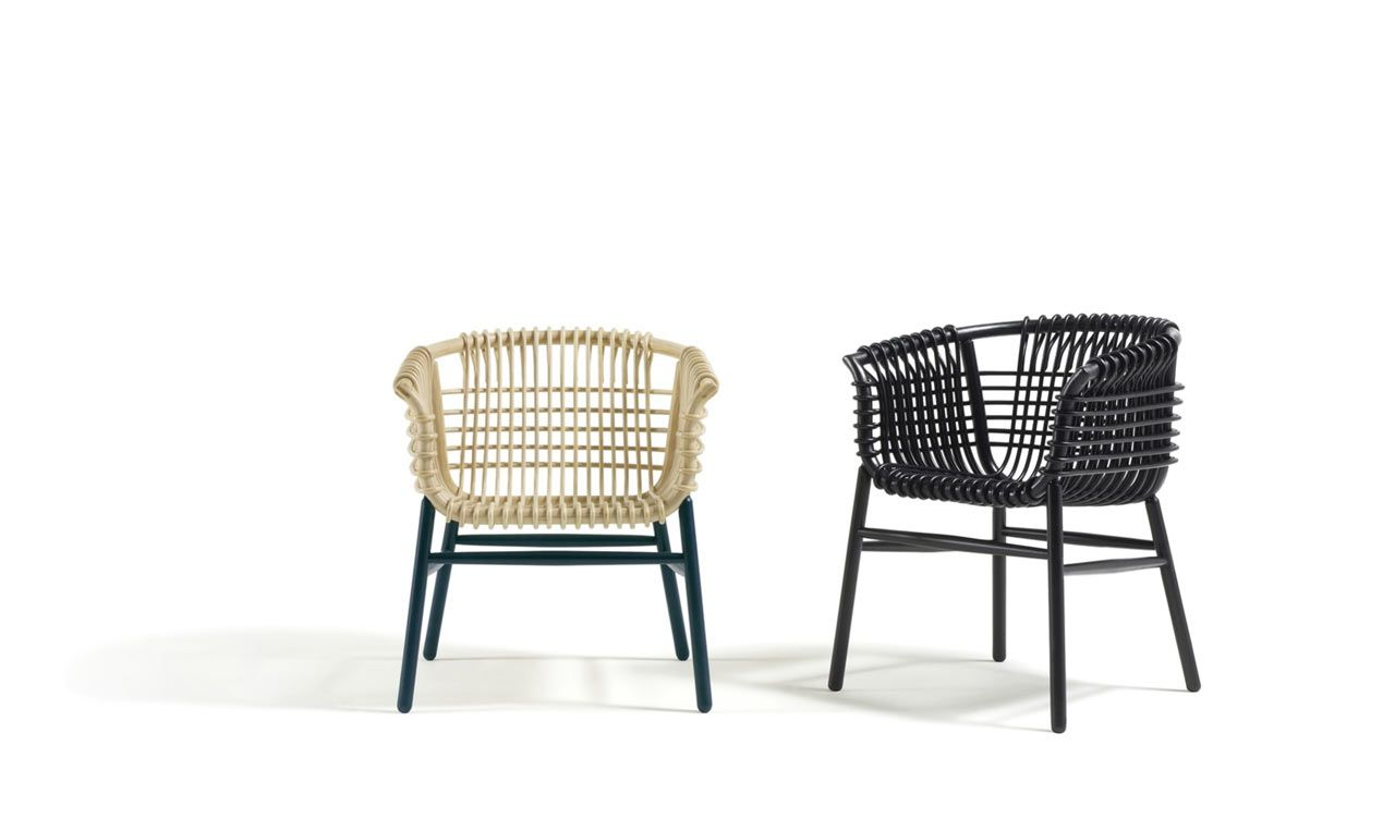 Based in jakarta studiohiji designer abie abdillah created a modern rattan armchair for cappellini that perfectly straddles old and new