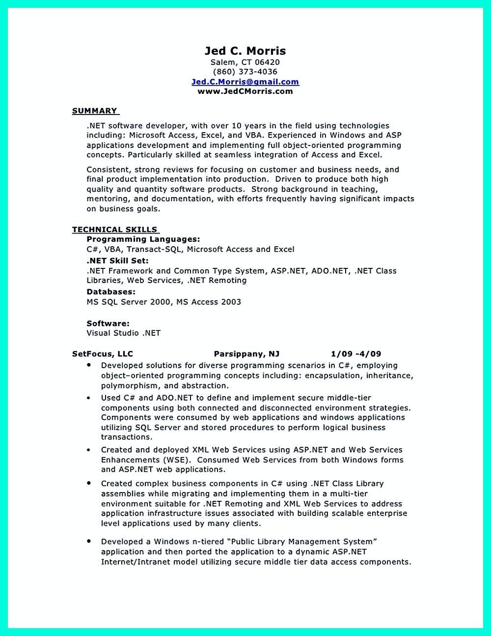 40 Entry Level Web Developer Resume in 2020 Resume