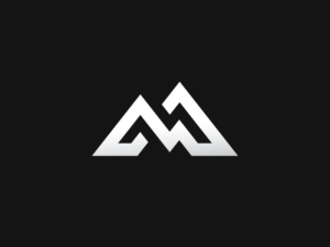 M For Mountains 300x225 100 Letter M Logo Design Inspiration And Ideas Logo Design Outdoor Logos Logo Design Inspiration