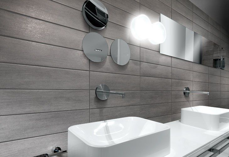 RIVESTIMENTO GRES PORCELLANATO BAGNO GRAPHITE | bathroom | Pinterest ...