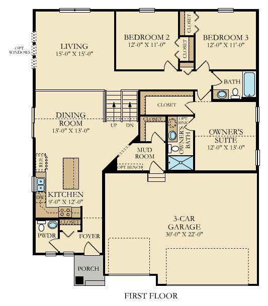 Introducing The Carson Split Level Just Released In The Woodlands Of Ramsey Mn Floor Plans Lennar Split Level