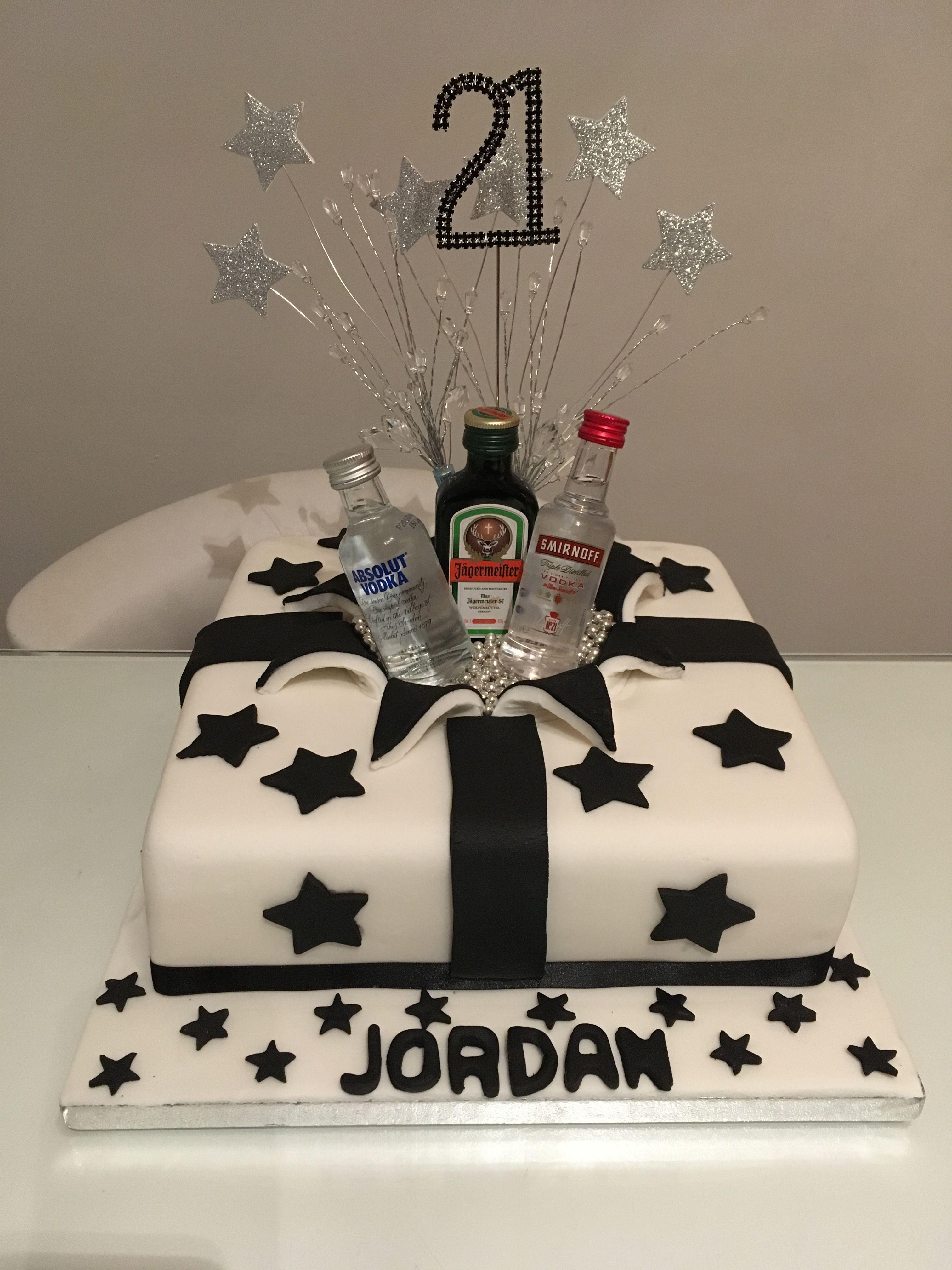 Pin On 21st Cake