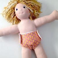 Free Doll Diaper / Nappy Pattern