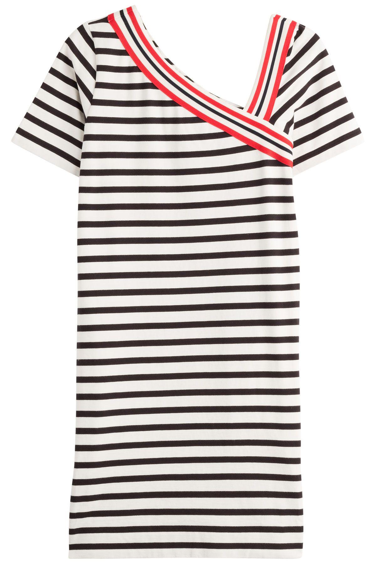 StripedCottonDressfromSEEBYCHLOÉ | Luxury fashion online | STYLEBOP.com