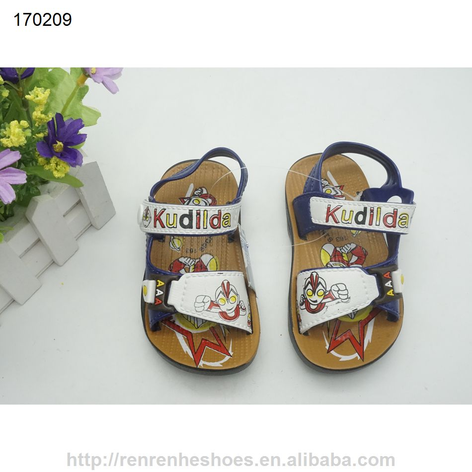 d44e45332 new design plastic pvc kids boys sandals made in China 2017 ...