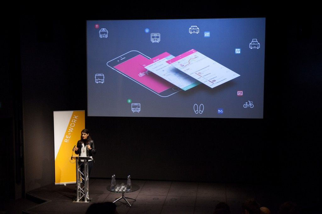 allryder   the smart city transit app