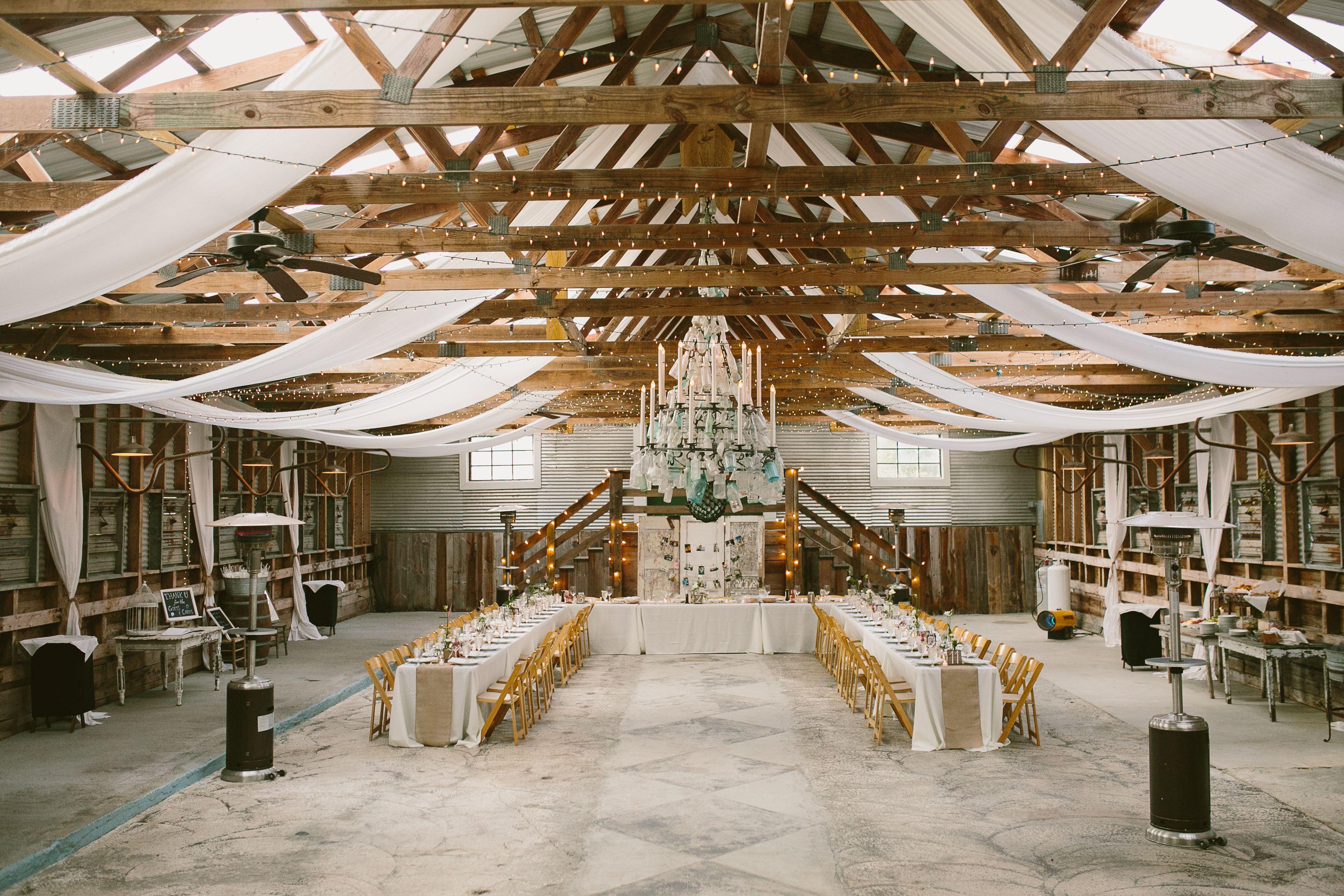 Wedding decorations barn  Sinkland Farms Barn Wedding Reception  Jimmys and Amys wedding