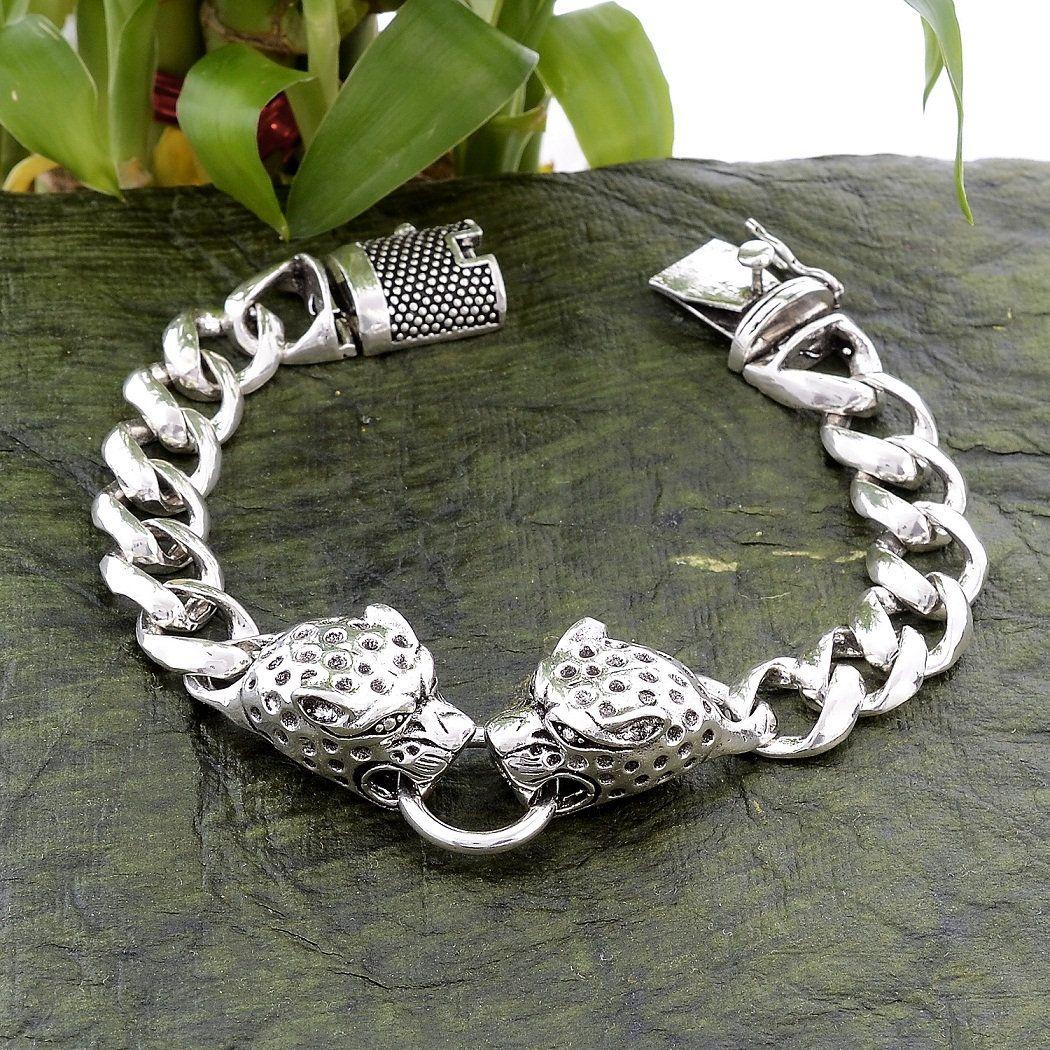 New Arrival Men/'s Bracelet Length- 8 Inches 92.5 Sterling Silver Oxidize Unique Handcrafted Designer Men/'s Bracelet Gift For Men/'s