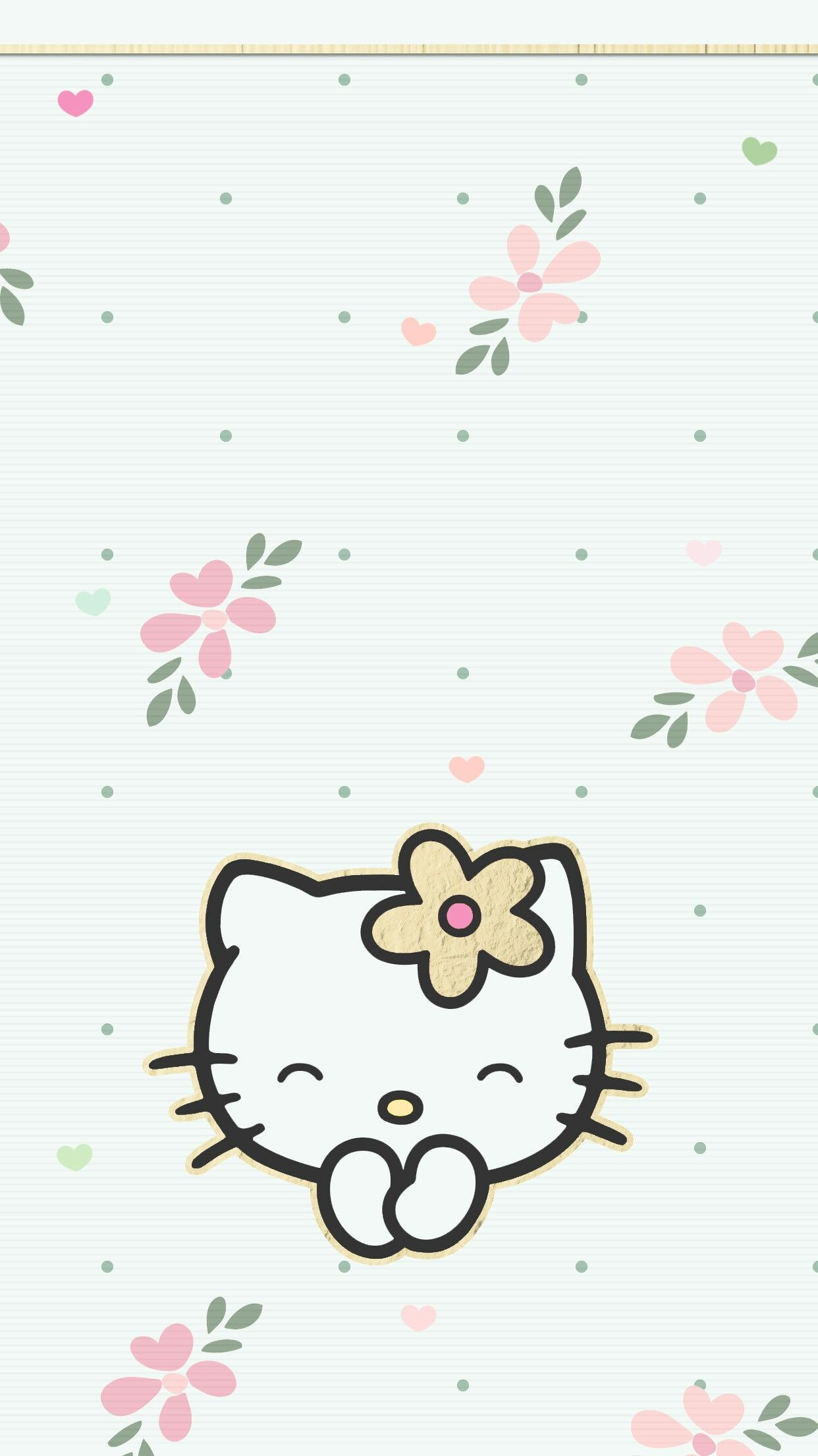 Wallpapers Walpaper Hello Kitty Amor IPhone Wall HK Tjn