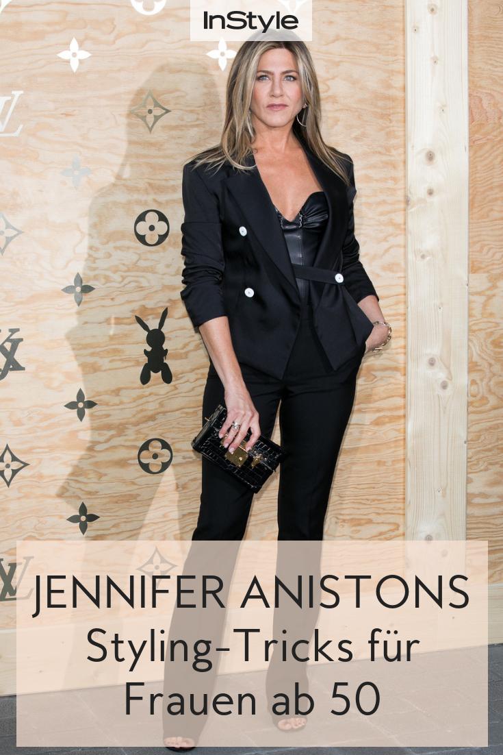 jennifer aniston wird 50! ihre 3 besten fashion-tricks für