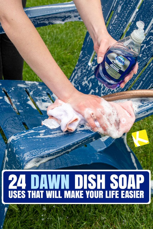 24 Dawn Dish Soap Uses That Will Make Your Life Easier Cleaning