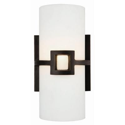 design house monroe 1-light oil-rubbed bronze sconce | home