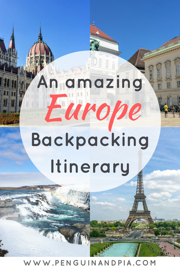with our europe travel itinerary youll visit the cities you absolutely have to see perfect for your next europe backpacking adventure or to