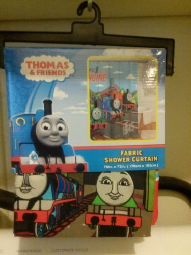 New Thomas And Friends Fabric Shower Curtain 1999 Free Shipping