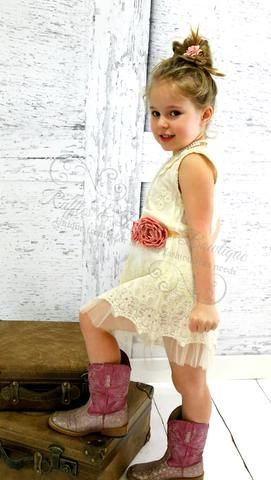 5ce2b8b4c Beige Vintage French Romantic Baby Girls Kids Princess Dresses 2-6Yrs. Find  this Pin and more on Ruffles & Bowties Bowtique ...